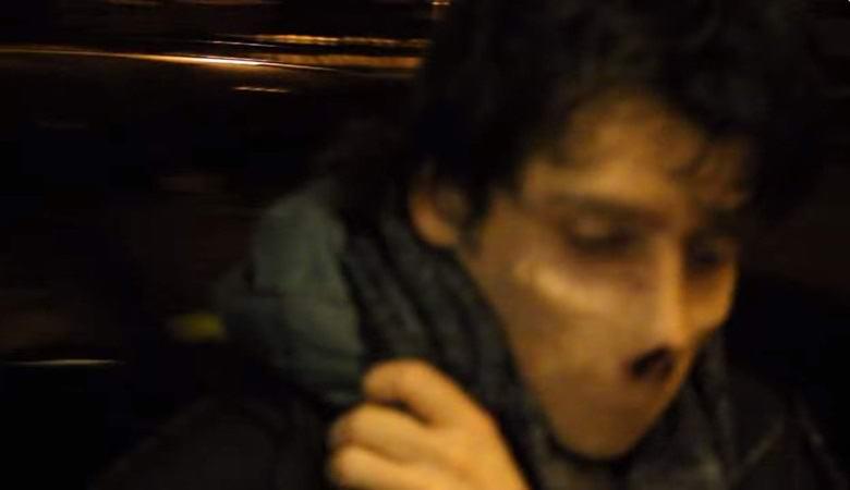 В Нью-Йорке запечатлели таинственного человека без рта