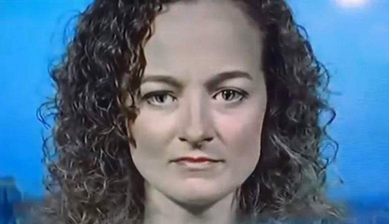 «Женщину-рептилоида» со странными глазами заметили в эфире американских новостей
