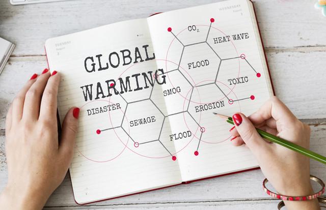 Температура Земли уже 33 года держится выше среднего значения
