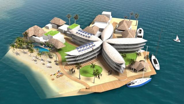 Проект ближайшего будущего: плавающая нация с собственной криптовалютой