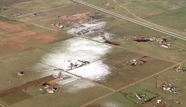 Странную погодную аномалию заметили в Колорадо