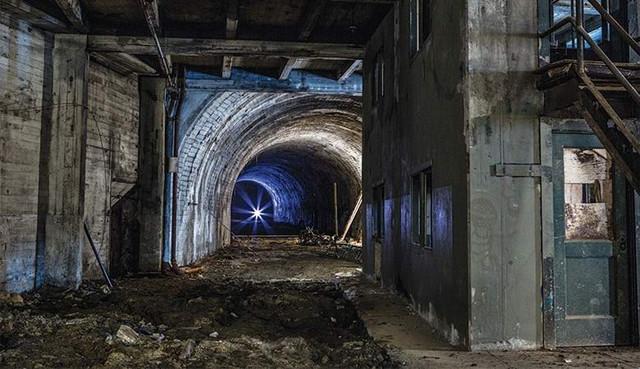 Поразительный феномен запечатлели в колумбийском тоннеле