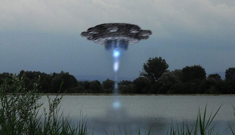 НЛО выкачивал ночью воду из шведского озера