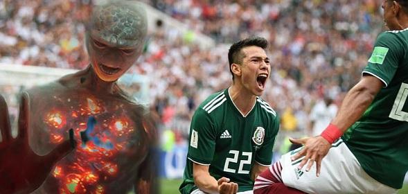 Инопланетяне наблюдают за Чемпионатом мира по футболу в России
