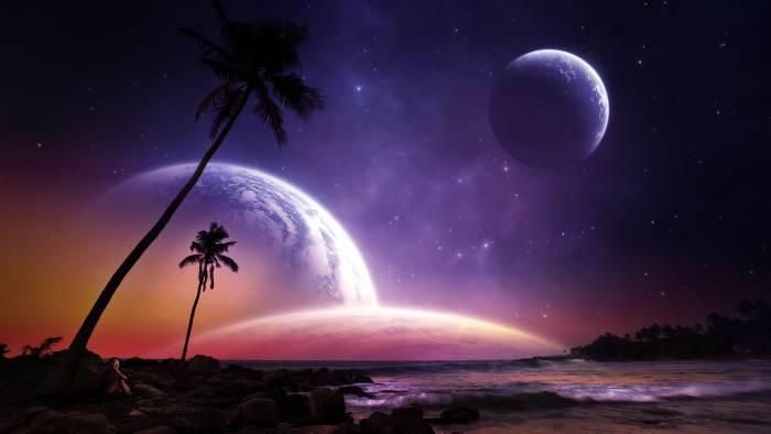 Назвали экзопланеты на чьих лунах есть жизнь