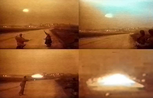 Испанские уфологи опубликовали кадры с «летающей тарелкой» в Москве 1995 года