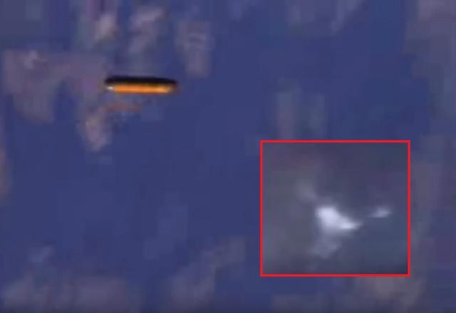 НЛО сопровождали в полете шаттл «Атлантис»