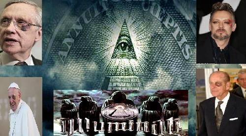 """""""Черный Глаз"""" – Знак Посвящения Иллюминатов. С ним замечены Все, от Папы Римского до членов Королевской Семьи"""