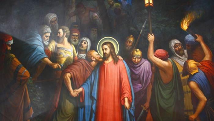 Иуда предал Христа по его просьбе