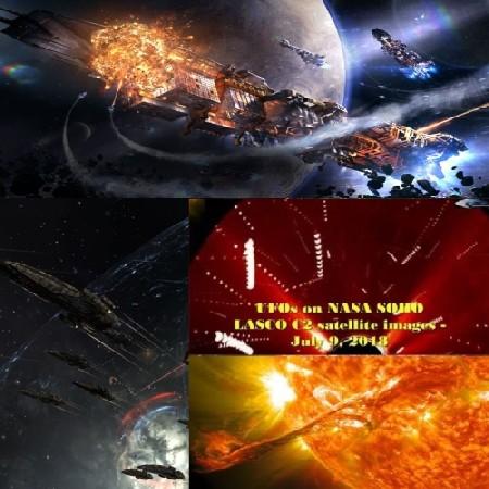 9 июля около Солнца велась небольшая Космическая Война