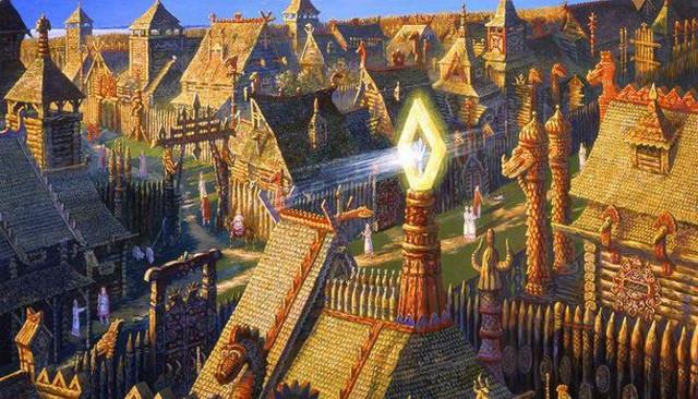 Инопланетяне уничтожили процветающие города Гипербореи