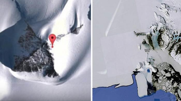 Правительство США скрывает пирамиды Антарктиды
