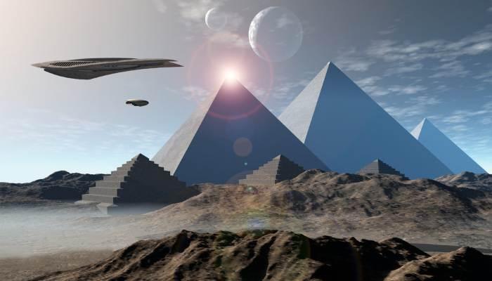 Кто построил на Земле пирамиды и всё остальное