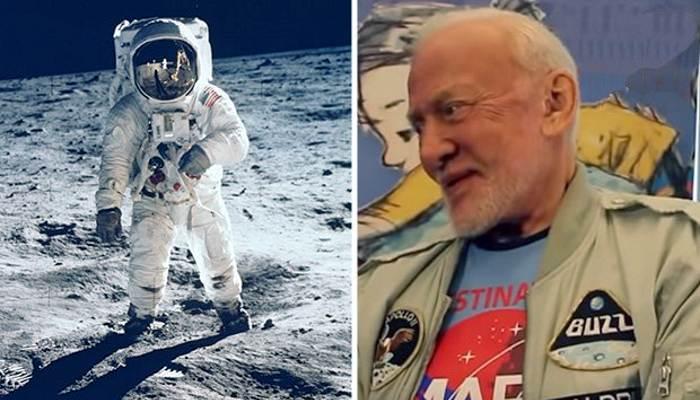 Астронавт Базз Олдрин признался, что не был на Луне