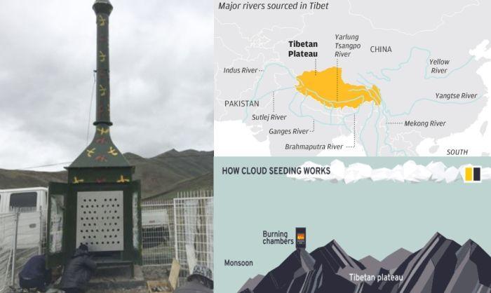 Китай запускает проект по изменению погоды