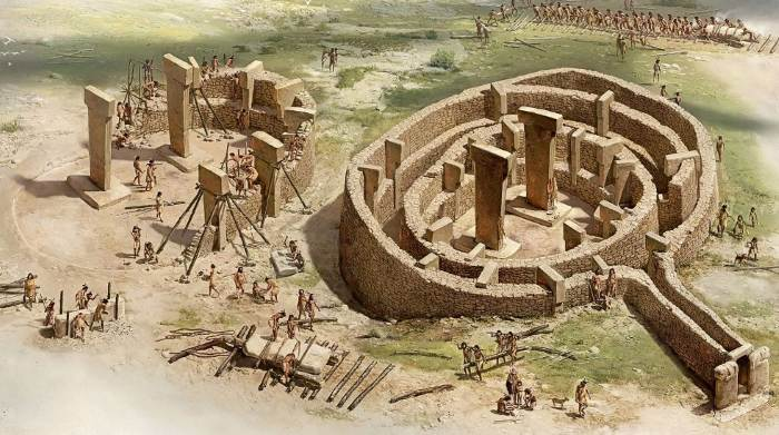 Самый древний храм на Земле Гёбекли-Тепе