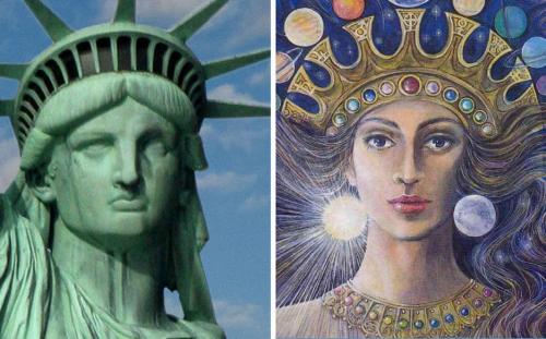 Идолы ануннаков контролируют США