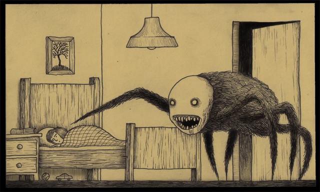 Жуткое детство в паранормальном доме