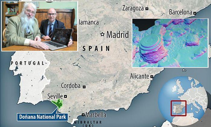 Атлантида обнаружена у берегов Испании