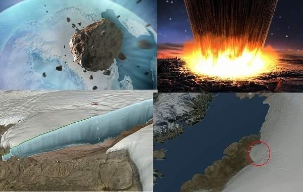 Под льдом Гренландии обнаружили 31-километровый кратер от метеорита