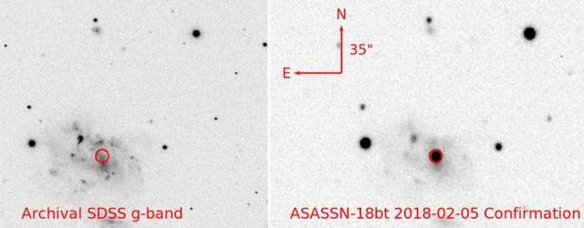 Зафиксирован необъяснимый взрыв звезды
