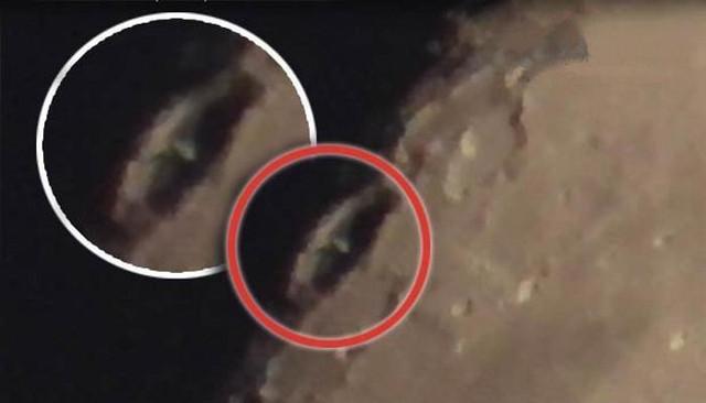 Большую башню обнаружили в лунном кратере