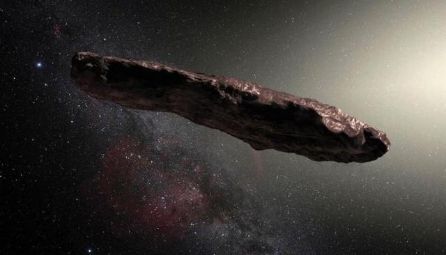 Астероид Оумуамуа оказался меньше, чем предполагали