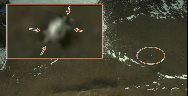 В Антарктике обнаружили «внеземной объект»