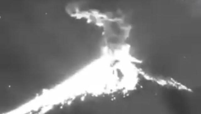 Зачем инопланетяне опять взорвали вулкан Попокатепетль