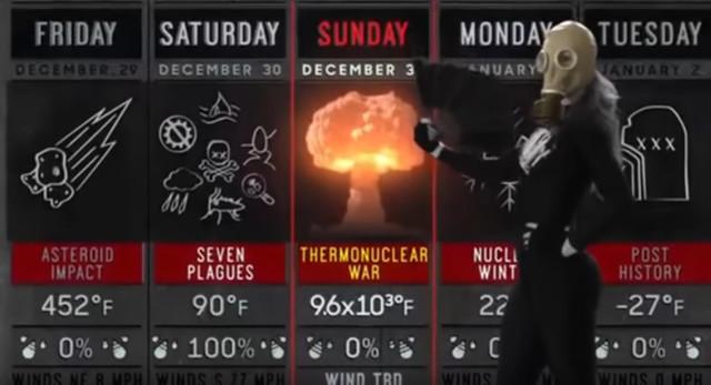 Иллюминаты обещают астероид, чуму и ядерную войну прямо на Новый Год?