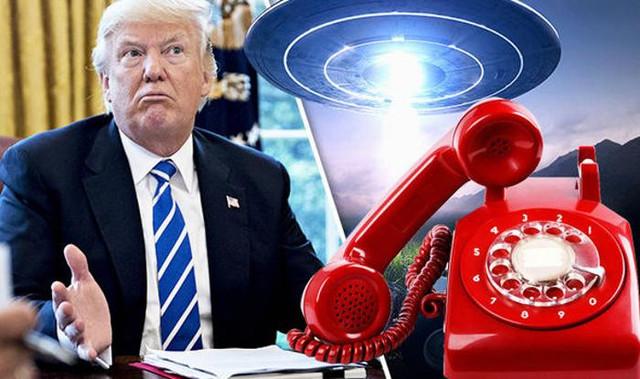 Президент Трамп связан с инопланетянами