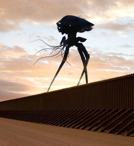 Стена поможет Трампу остановить десант с Нибиру