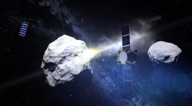 Как НАСА планирует сбивать опасные астероиды
