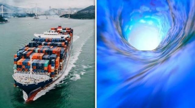 Китайский корабль попал в другое измерение в море Дьявола