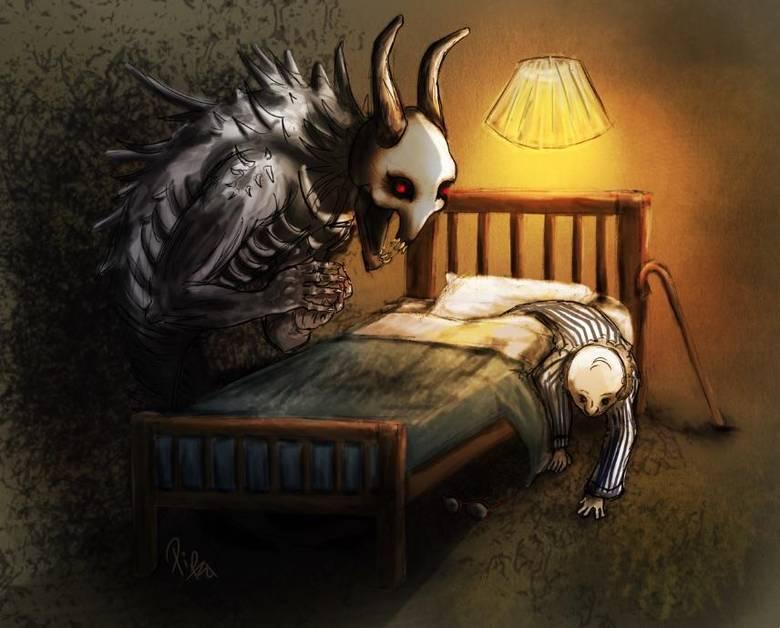 картинка сон чудовищ стиль