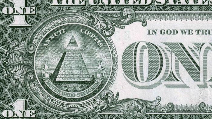 Всевидящее Око на долларовой банкноте