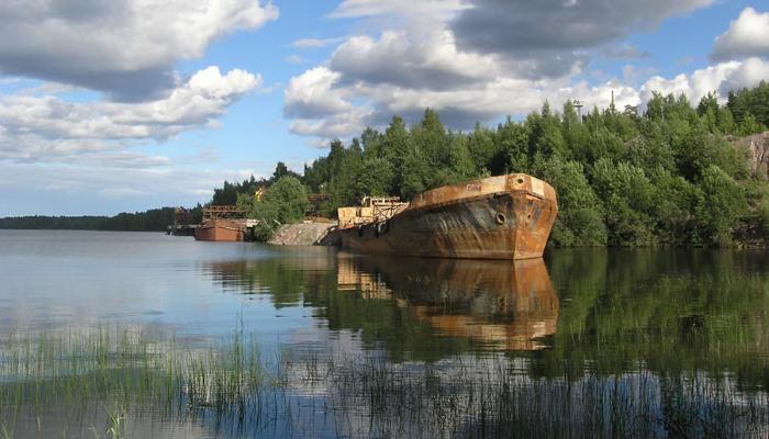 Озеро погибших кораблей