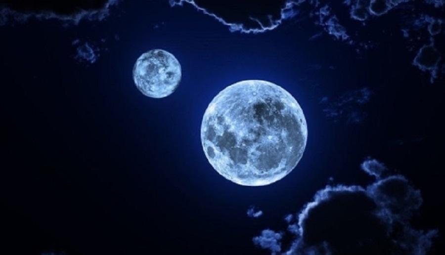 Ночью 21-го марта многие видели в небе 2 Луны