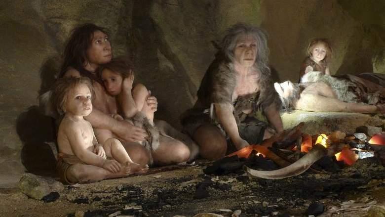 древний человек, неандертальцы, каннибализм
