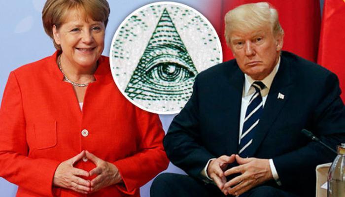 Канцлер Германии является членом тайного общества иллюминатов