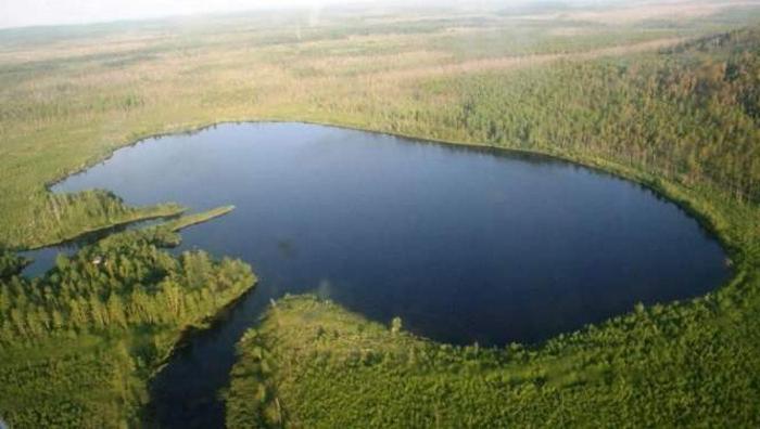 Загадочное озеро Чертов глаз