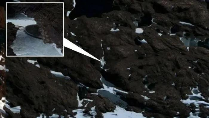 Дискообразный Объект Найден В Антарктиде