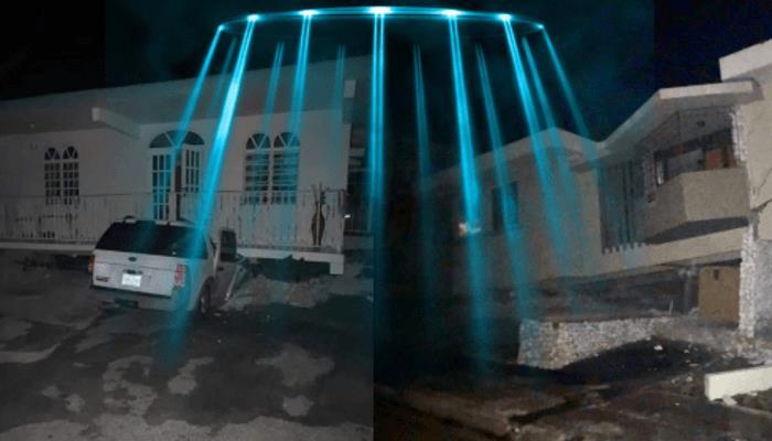 Землетрясение В Пуэрто-Рико Остановил НЛО