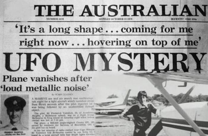 К Исчезновению Летчика Причастно НЛО