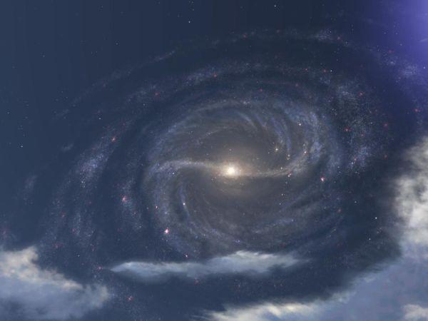 Газ Гало Млечного Пути Оказался В 10 Раз Горячее, Чем Считали Ученые
