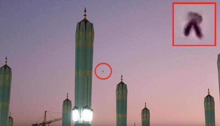 НЛО Замечен Над Древним Храмом В Саудовской Аравии