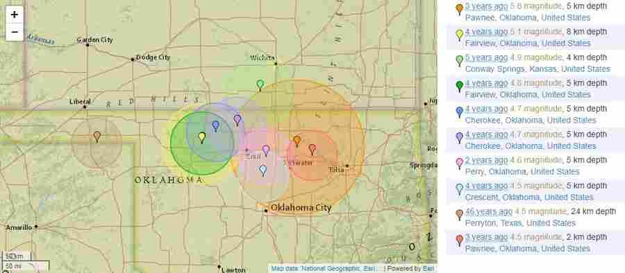 Землетрясение В Канзасе: Что Скрывают Военные И USGS?