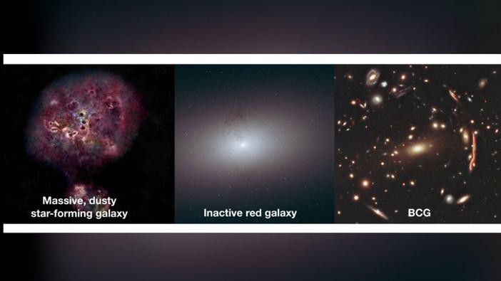 Внезапная Смерть Галактики-Монстра Поставила Астрономов В Тупик