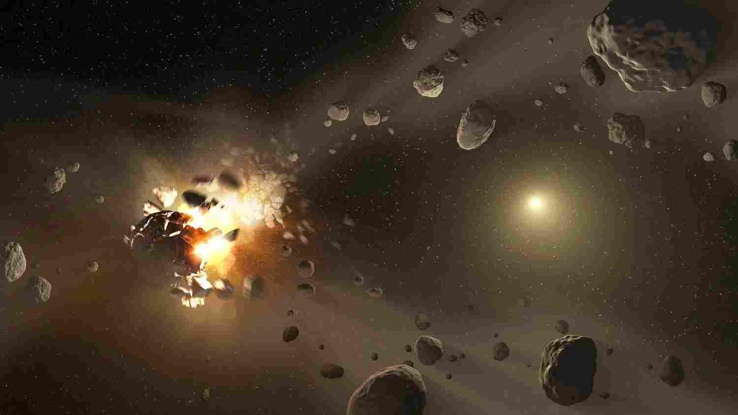Пояс Астероидов Погибнет В Лучах Умирающего Солнца