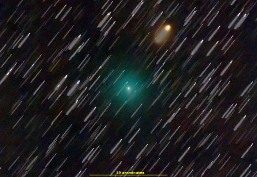 Комета Атлас Приближается К Солнцу